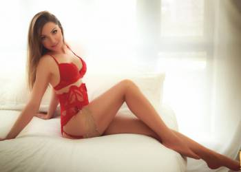 Varvara - new beautiful brunette at Diva Escort!